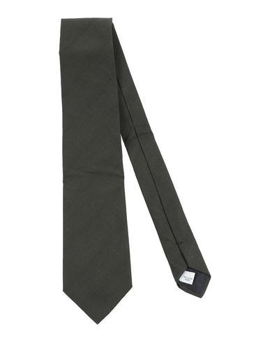 Umit Benan   Темно-зеленый; Грифельно-синий Мужской темно-зеленый галстук UMIT BENAN бархат   Clouty