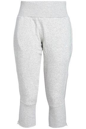 adidas by Stella McCartney | Adidas By Stella Mccartney Woman Cotton-blend Pants Light Gray | Clouty