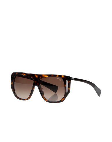 Emilio Pucci | Черный Женские черные солнечные очки EMILIO PUCCI логотип | Clouty