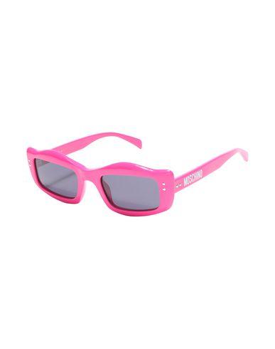 MOSCHINO   Фуксия Женские солнечные очки MOSCHINO логотип   Clouty