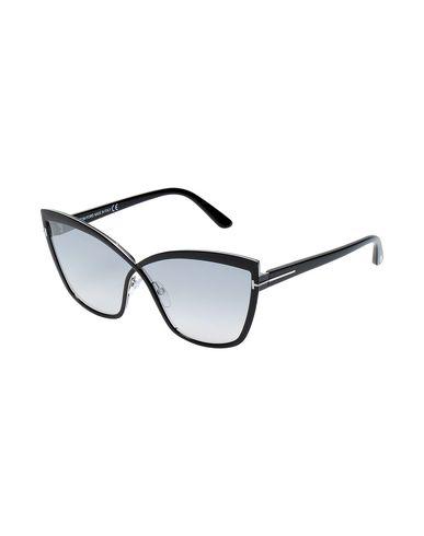 Tom Ford | Черный Женские черные солнечные очки TOM FORD логотип | Clouty