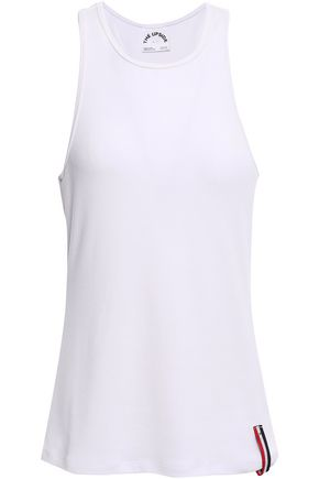 The Upside | The Upside Woman Ribbed Modal-blend Tank White | Clouty