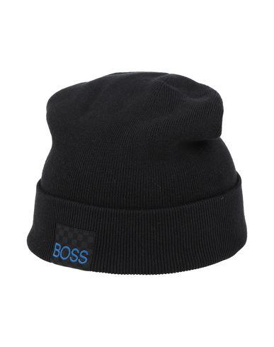 BOSS | Черный Детской черной головной убор BOSS вязаное изделие | Clouty
