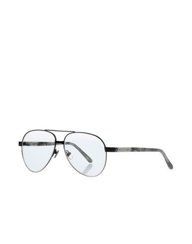 Linda Farrow   Черный Женские черные солнечные очки LINDA FARROW разноцветный узор   Clouty