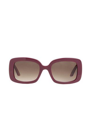 Dior | Красно-коричневый Женские солнечные очки DIOR одноцветное изделие | Clouty