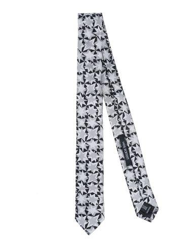 Neil Barrett | Мужской серый галстук NEIL BARRETT атлас | Clouty
