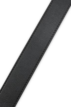MICHAEL KORS | Michael Kors Collection Woman Leather Belt Black | Clouty