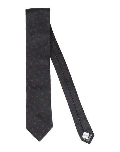 Eton | Мужской темно-синий галстук ETON атлас | Clouty