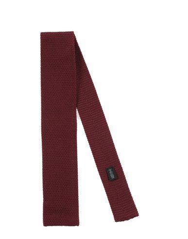 Gallieni   Красно-коричневый Мужской галстук GALLIENI вязаное изделие   Clouty