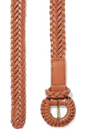 Zimmermann | Zimmermann Woman Woven Leather Belt Tan | Clouty