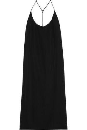 Mikoh | Mikoh Woman Corsica Silk-crepe Dress Black | Clouty