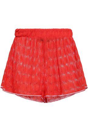Missoni Mare | Missoni Mare Woman Crochet-knit Shorts Papaya | Clouty