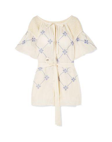 Innika Choo | Слоновая кость Пляжное платье INNIKA CHOO вышивка | Clouty