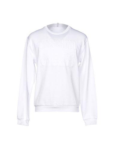 MOSCHINO | Белый; Серый Мужская белая пижама MOSCHINO флис | Clouty