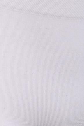 Hanro | Hanro Woman Stretch-jersey Boy Shorts White | Clouty