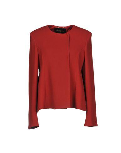 Les Copains | Кирпично-красный Женский пиджак LES COPAINS креп | Clouty