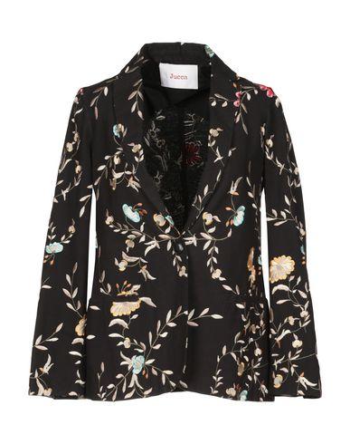 Jucca | Женский черный пиджак JUCCA плотная ткань | Clouty