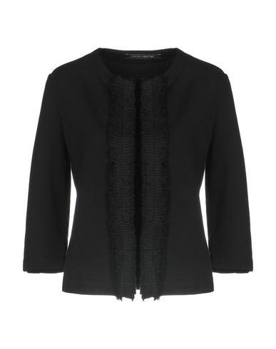 European Culture | Черный; Темно-синий Женский черный пиджак EUROPEAN CULTURE флис | Clouty