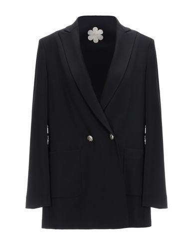 Mouche | Черный; Белый Женский черный пиджак MOUCHE креп | Clouty