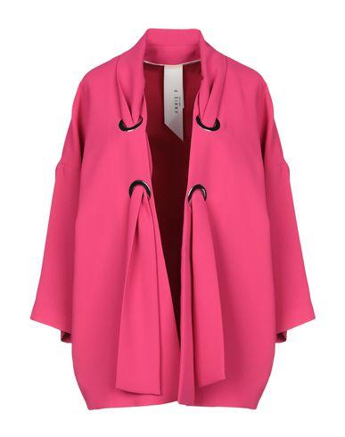 Annie P. | Фуксия; Бирюзовый; Белый Женский пиджак ANNIE P. креп | Clouty
