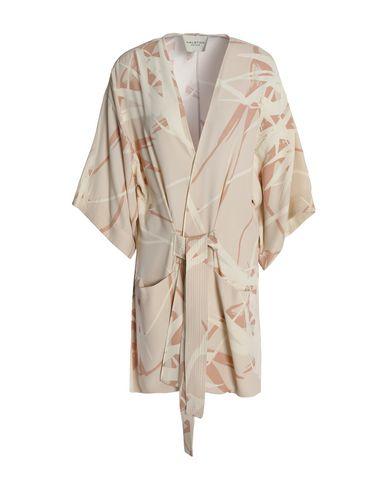 Halston Heritage | Слоновая кость Женское легкое пальто HALSTON HERITAGE плотная ткань | Clouty