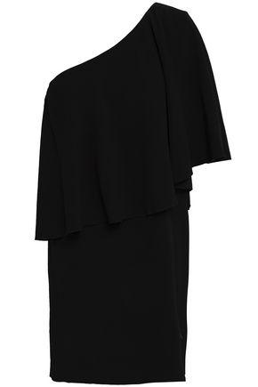 Ba&Sh | Ba&sh Woman Layered Crepe Mini Dress Black | Clouty