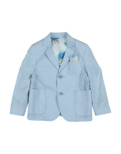 Neill Katter | Небесно-голубой Мужской пиджак NEILL KATTER плотная ткань | Clouty