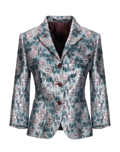 Tagliatore 0205 | Женский лазурный пиджак TAGLIATORE 02-05 жаккардовая ткань | Clouty