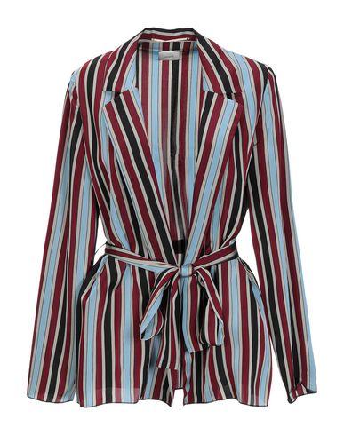 ..,Merci | Красно-коричневый Женский пиджак ..,MERCI атлас | Clouty