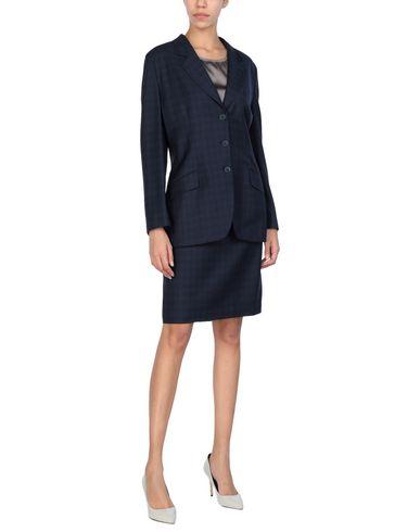 Anderson | Женский темно-синий классический костюм ANDERSON шерстяной муслин | Clouty