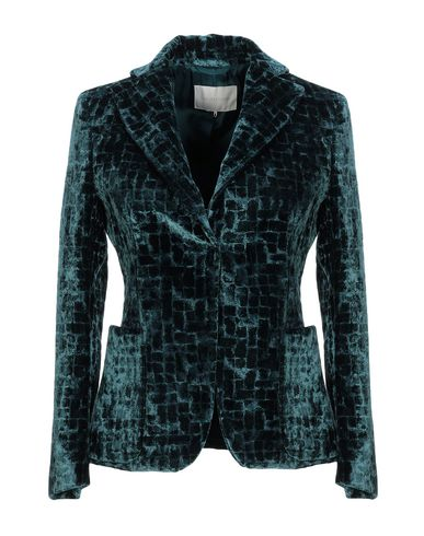 L'Autre Chose | Цвет морской волны Женский пиджак L' AUTRE CHOSE бархат | Clouty