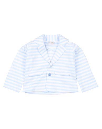 PAZ RODRIGUEZ | Небесно-голубой Мужской пиджак PAZ RODRIGUEZ флис | Clouty