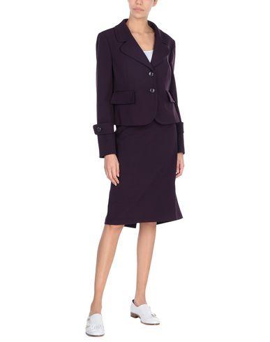 Seventy Sergio Tegon | Женский баклажанный классический костюм SEVENTY SERGIO TEGON Плотная ткань | Clouty
