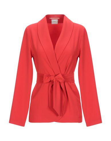 ..,Merci | Женский красный пиджак ..,MERCI креп | Clouty