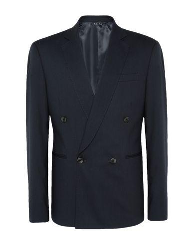 8 By Yoox | Свинцово-серый Мужской пиджак 8 by YOOX Двубортный пиджак – незаменимый атрибут мужского гардероба. Модель из твила с двумя боковыми шлицами придаст Вашему образу элегантность. Чтобы почувствовать себя истинным денди | Clouty