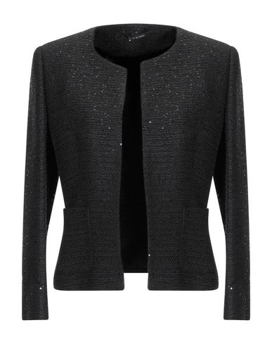 Tagliatore 0205 | Женский черный пиджак TAGLIATORE 02-05 твид | Clouty
