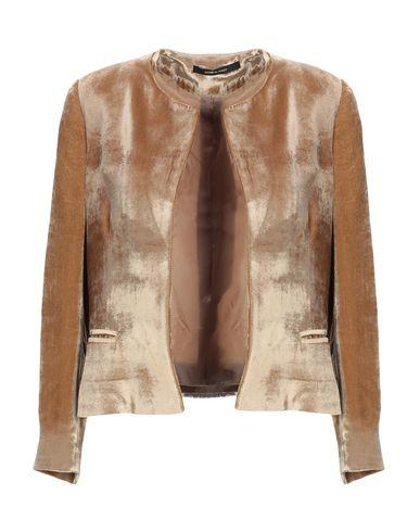 Tagliatore 0205 | Женский коричневый пиджак TAGLIATORE 02-05 бархат | Clouty