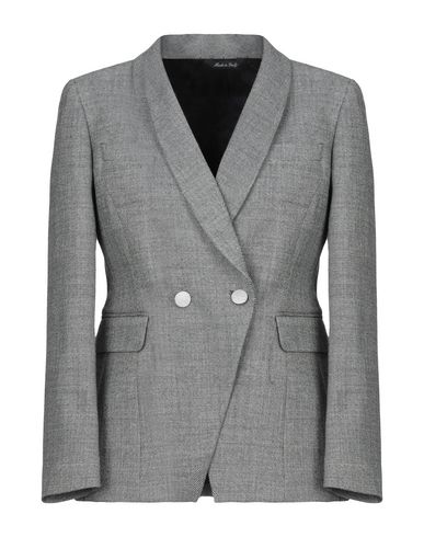 Brian Dales | Женский черный пиджак BRIAN DALES фланель | Clouty
