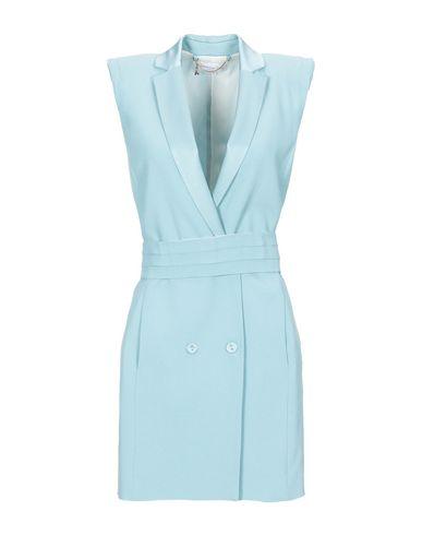 Patrizia Pepe | Небесно-голубой Короткое платье PATRIZIA PEPE шелк-кади | Clouty
