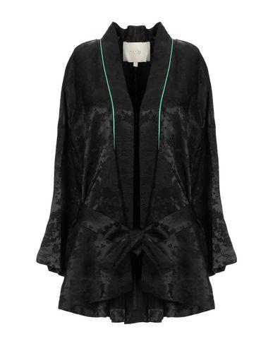 Maje   Женский черный пиджак MAJE жаккардовая ткань   Clouty