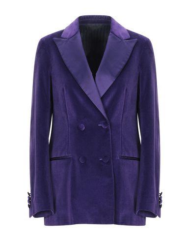 BLECH   Фиолетовый; Темно-зеленый; Черный Женский фиолетовый пиджак BLECH атлас   Clouty