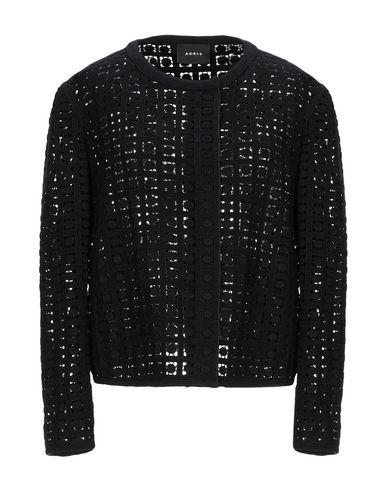Akris | Женский черный пиджак AKRIS креп | Clouty