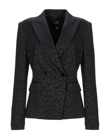 Cavalli Class   Женский черный пиджак CAVALLI CLASS жаккардовая ткань   Clouty