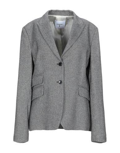 Dondup | Женский черный пиджак DONDUP фланель | Clouty