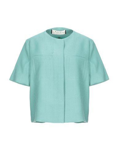Marni   Женский зеленый пиджак MARNI шерстяной муслин   Clouty