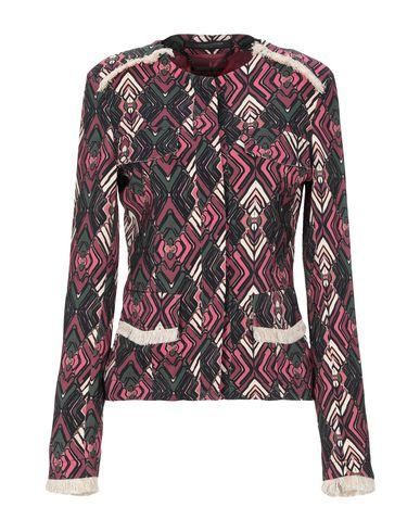 Messagerie | Женский баклажанный пиджак MESSAGERIE креп | Clouty