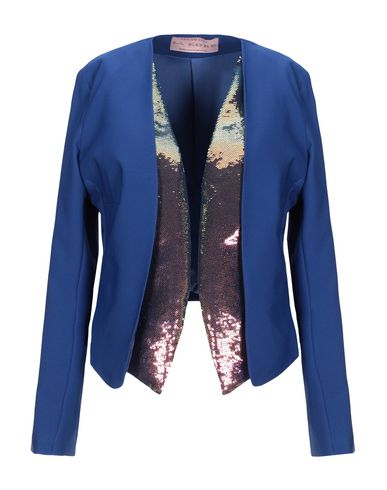 La Kore   Женский синий пиджак LA KORE тюль   Clouty