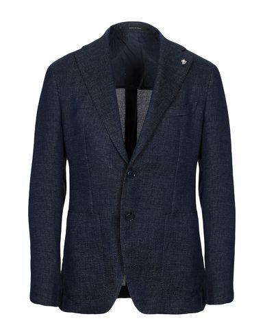 Tagliatore   Мужской темно-синий пиджак TAGLIATORE плотная ткань   Clouty