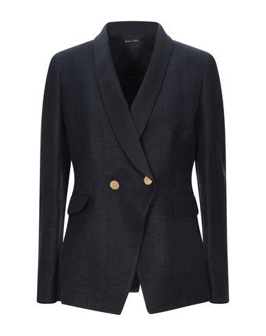 Brian Dales | Женский темно-синий пиджак BRIAN DALES атлас | Clouty