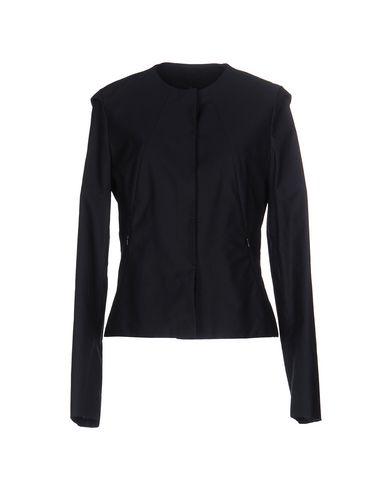 JIL SANDER   Темно-синий; Белый Женский темно-синий пиджак JIL SANDER плотная ткань   Clouty